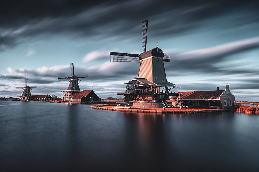 Best countries - Netherlands traveling